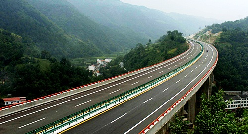 西安漢中高速バス06