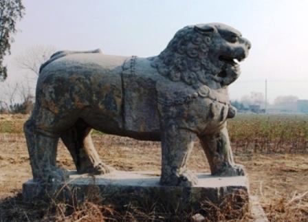 北宋永熙陵石彫刻02