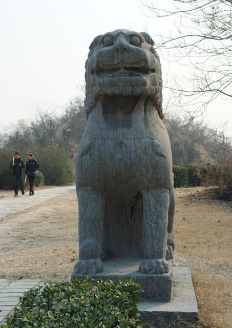 永昭陵(宋陵)の狛犬02