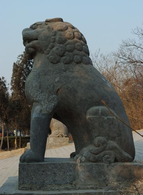 永昭陵(宋陵)の狛犬03