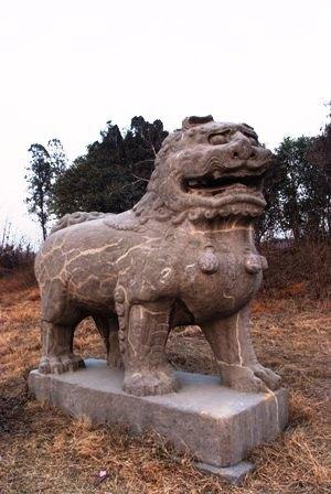 北宋永定陵石彫刻03