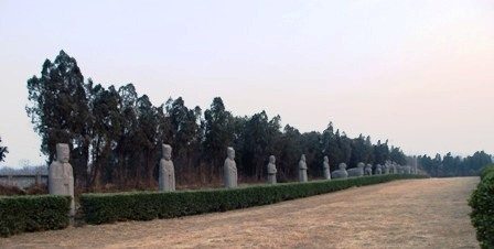北宋永定陵石彫刻01