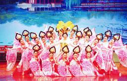陝西省歌舞大劇院倣唐歌舞宮廷ショー02