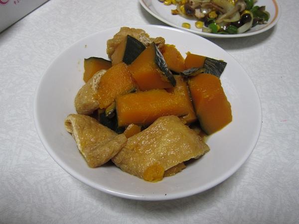 カボチャの煮物_110922