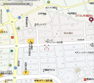 てんしの森-地図