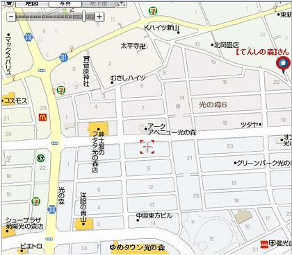 てんしの森-地図2