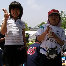 運動会(みーちゃんと…)