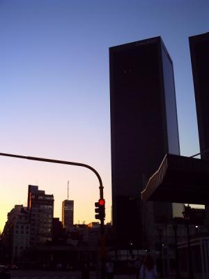 ブエノスアイレスの夕暮れ