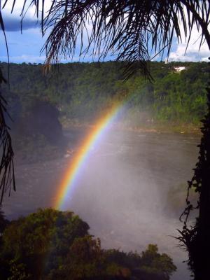 イグアスの虹