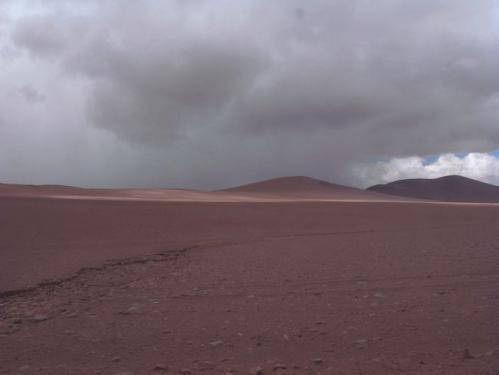 果てしない砂漠