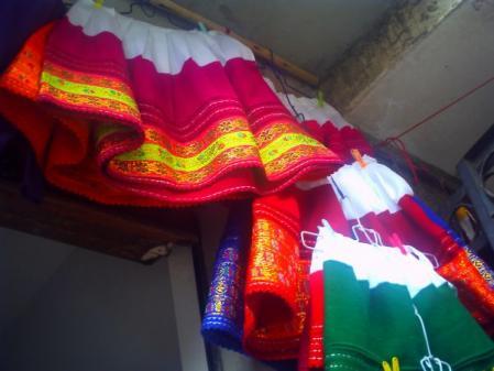 アンデスの民族衣装