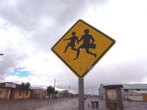 アンデスの村