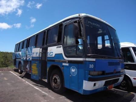 プエルトアヨラ行きバス