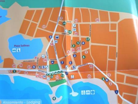 イサベラ島の地図