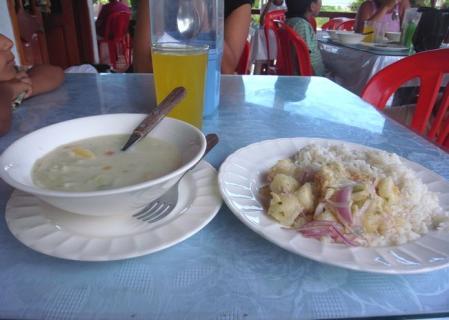 イサベラ島の食堂