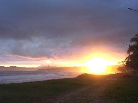 イサベラ島の夕日