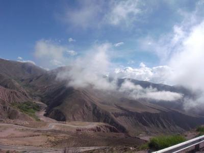 アンデス山脈越え