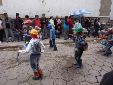 鉱山の子供たち