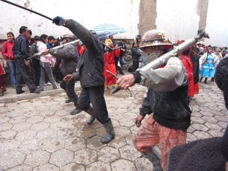 鉱夫たちの踊り