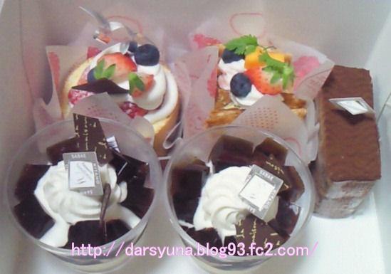 ケーキ20100621-1