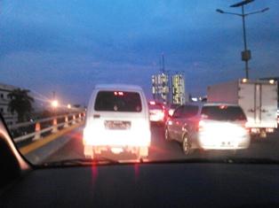 ジャカルタ名物の大渋滞