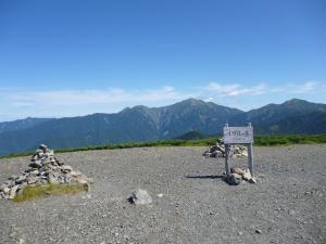 久しぶりの山歩きは 南ア 光岳!