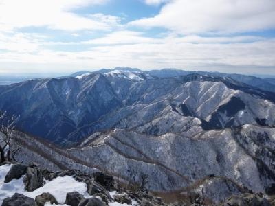 雪の藤原岳♪