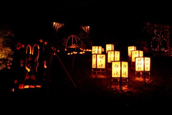2011年11月15日清水の滝竹灯祭り (16)