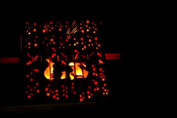 2011年11月15日清水の滝竹灯祭り (6)