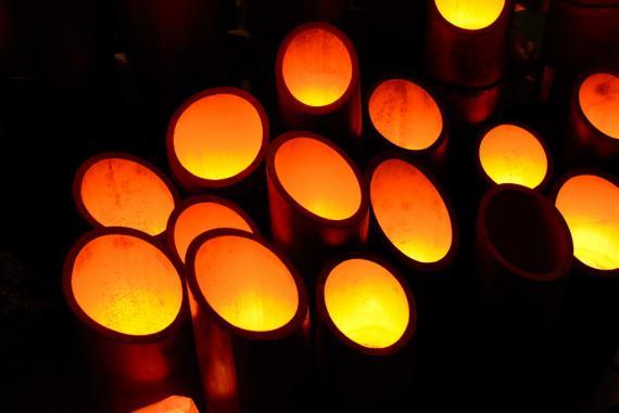 2011年11月15日清水の滝竹灯祭り (3)