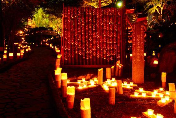 2011年11月15日清水の滝竹灯祭り (26)