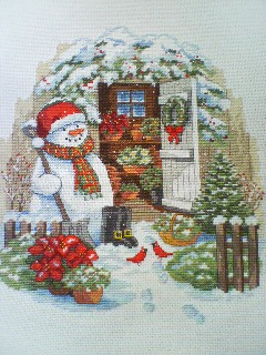 『Garden Shed Snowman』-4