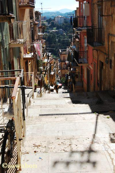 0930イタリアの小さな村シチリア1