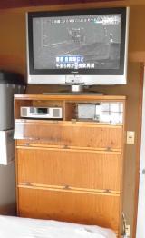 8月12日本棚設置TV視聴