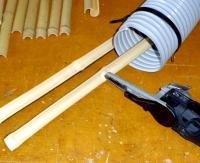 竹材節削り落し