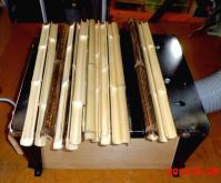 竹材挽き割り