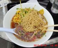 成田での昼食