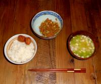 シンプル日本食