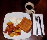 22日朝食