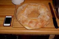 大きな円パン