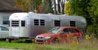 古いキャンプカー