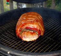 豚肉ロール焼き上がり
