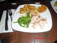 夕食銘々皿