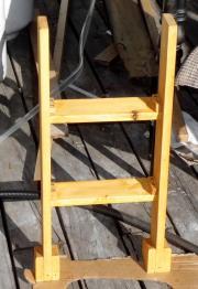 踏み台塗装前脚