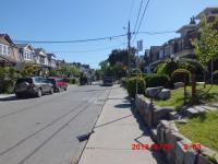 P家前の道路