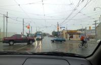 ストリートカーの電線