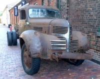 古いドッジのトラック