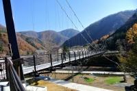 13年11月18日湯西川3道の駅吊橋