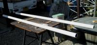 DIY13年11月24日材料塗装支柱単管