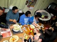 食事13年11月30日3しゃぶしゃぶ会